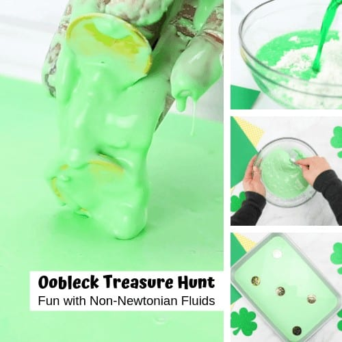 St Patricks Day Oobleck