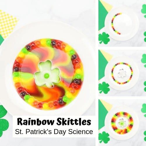 St Patricks Day Skittles Rainbow