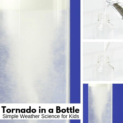 Tornado in a bottle weather activity