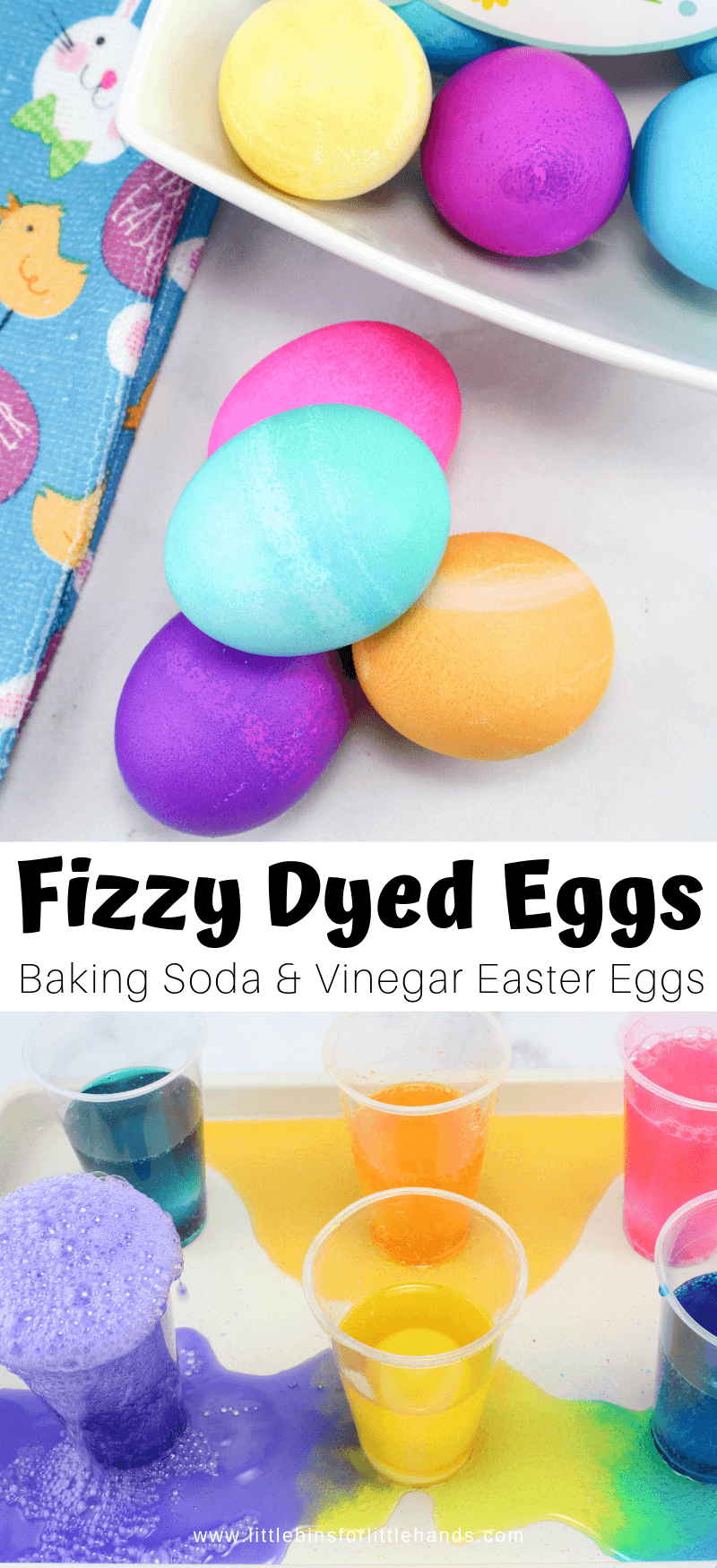 Fizzy Dyeing Easter Eggs For Kids Little Bins For Little Hands