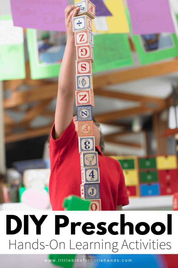 Preschool Learning Activities for a whole year of play and learning!