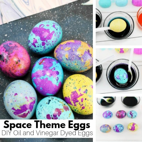 marbled Easter egg activity