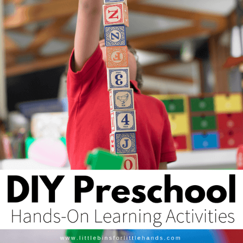 25 Playful Learning Activities For Preschoolers Little Bins For