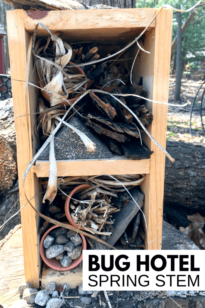 DIY Insect hotel project
