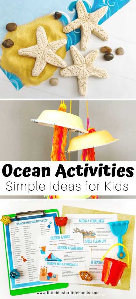21 Best Ocean Activities And Ocean Crafts Little Bins For