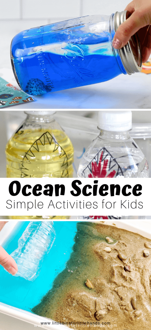 Ocean Science Activities For Preschoolers And Beyond Little Bins For Little Hands