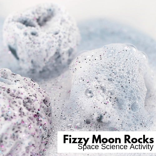 Fizzing Moon Rocks Activity