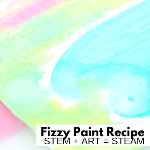 Fizzy Paint Summer STEAM
