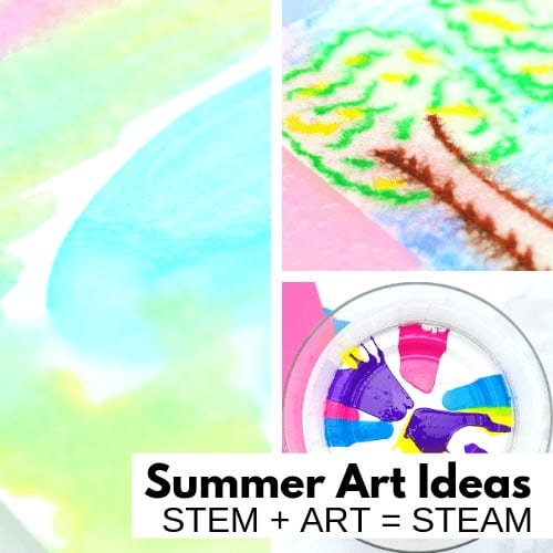 Summer Art ideas for Summer STEAM