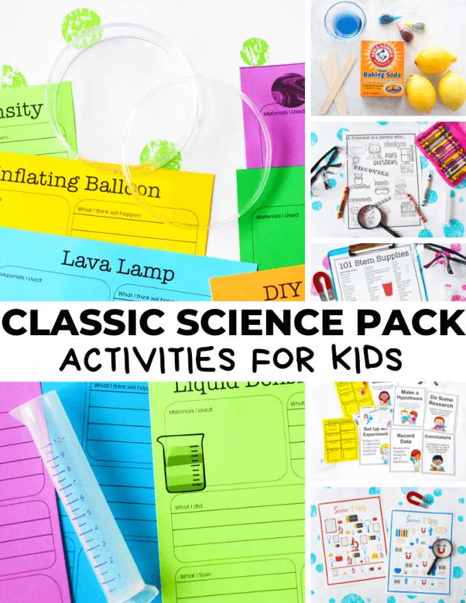 Classic Science Activities Pack