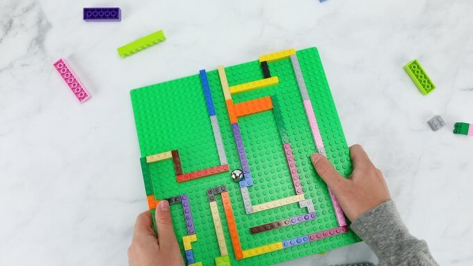 build a lego marble run