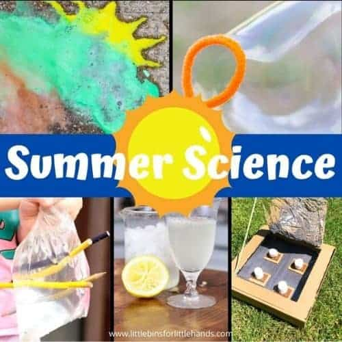 Super fun summer science experiments and activities for kids