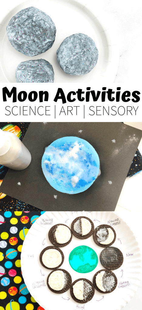 Space Activities and MMoon Activities for Kids Science and STEM