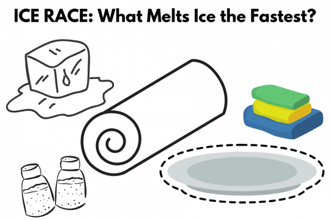 Ice STEM Challenge, what melts ice the fastest