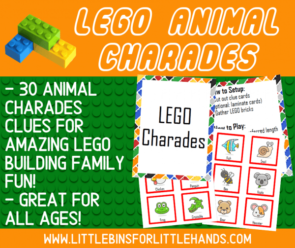 LEGO Challenges and Activities | Little Bins for Little Hands