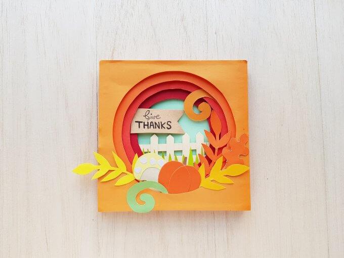 Thanksgiving Papercraft In 3d Little Bins For Little Hands