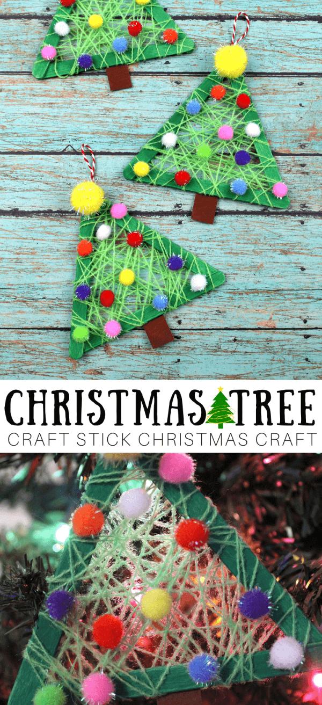 Easy Christmas Tree Craft For Kids Little Bins For Little