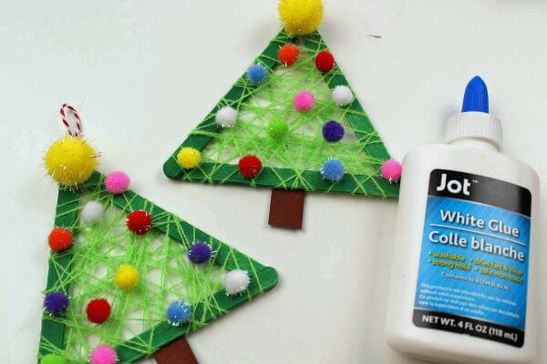 Easy Christmas Tree Craft For Kids
