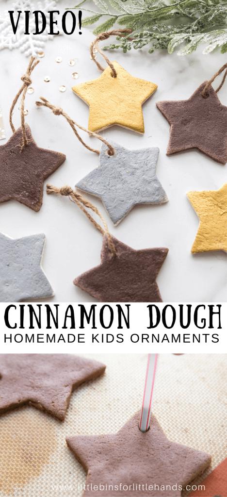 Super Simple Cinnamon Ornaments
