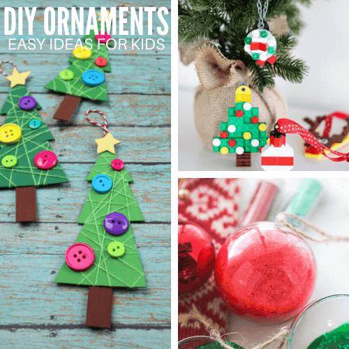 25 Diy Christmas Ornaments For Kids Little Bins For Little Hands