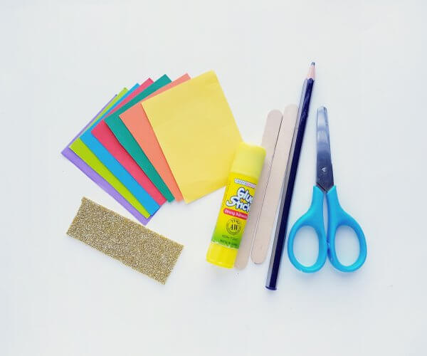 supplies needed for New Years craft