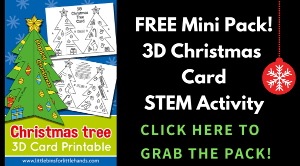 Printable Christmas Tree Template Little Bins For Little Hands