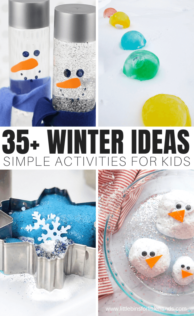 Easy Winter Theme Activities for Kids
