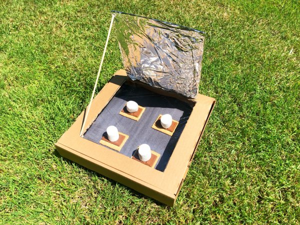 How To Make A Solar Oven Little Bins