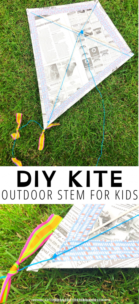 How To Make A Kite | Little Bins for