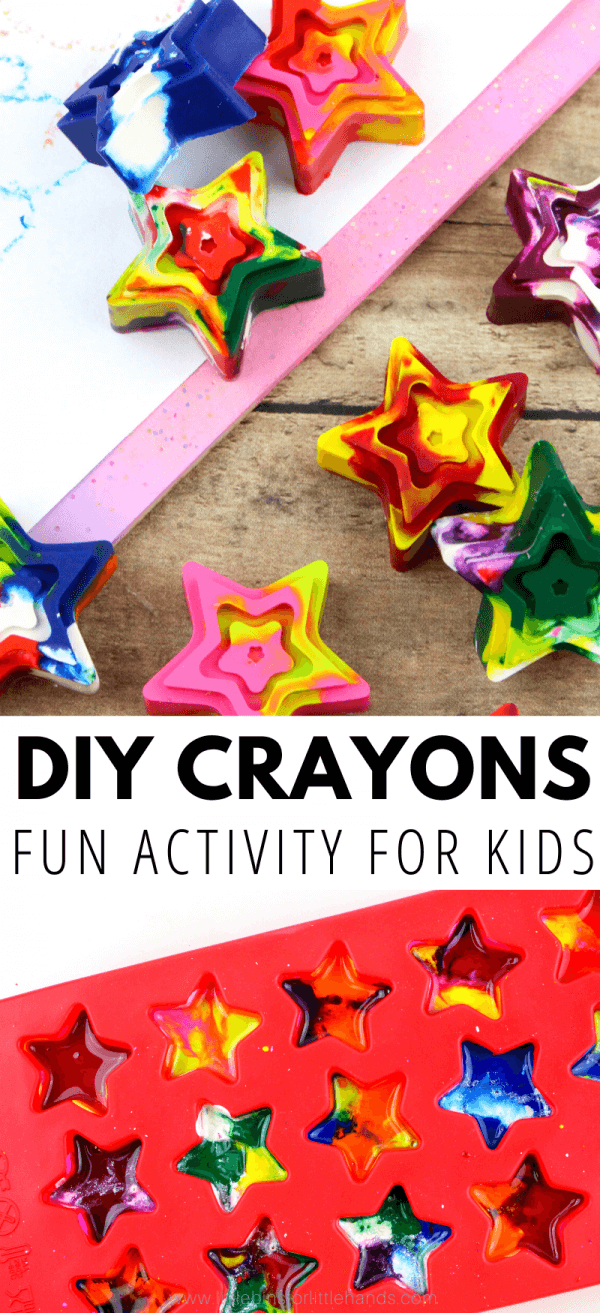 Turn those broken crayons into something pretty and useful. Find out how to melt crayons and recycle crayon bits.