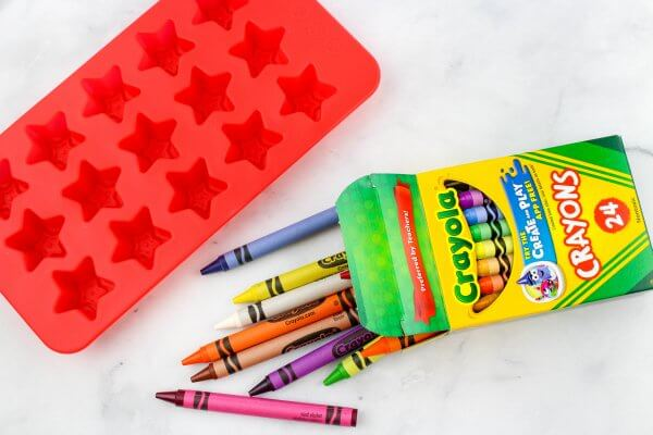 crayons needed for making homemade crayons