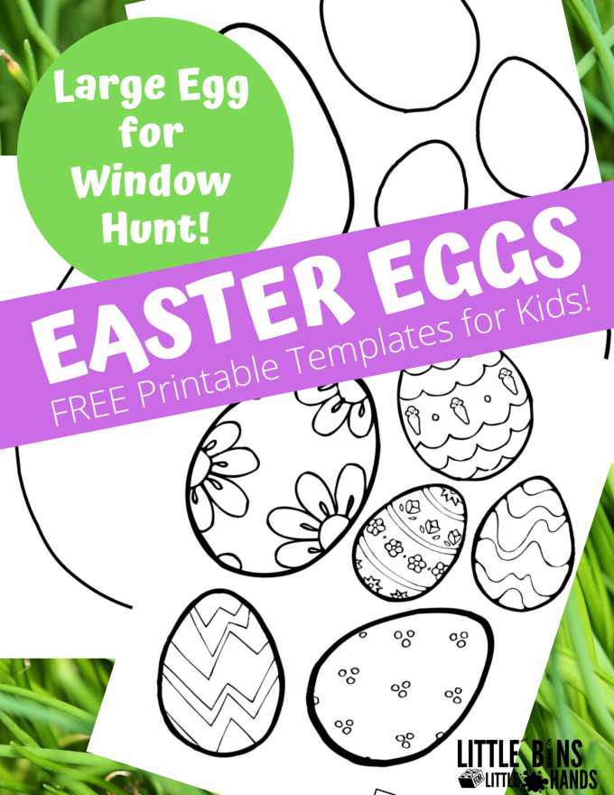 Free Printable Easter Egg Hunt Template perfect for kids and neighborhood Egg hunts