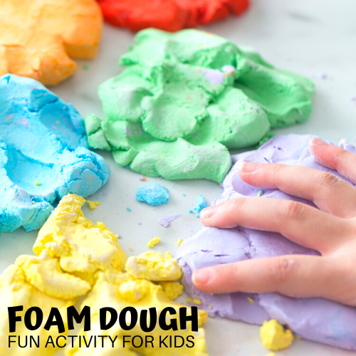 This image has an empty alt attribute; its file name is Foam-Dough-Activity-for-kids.png