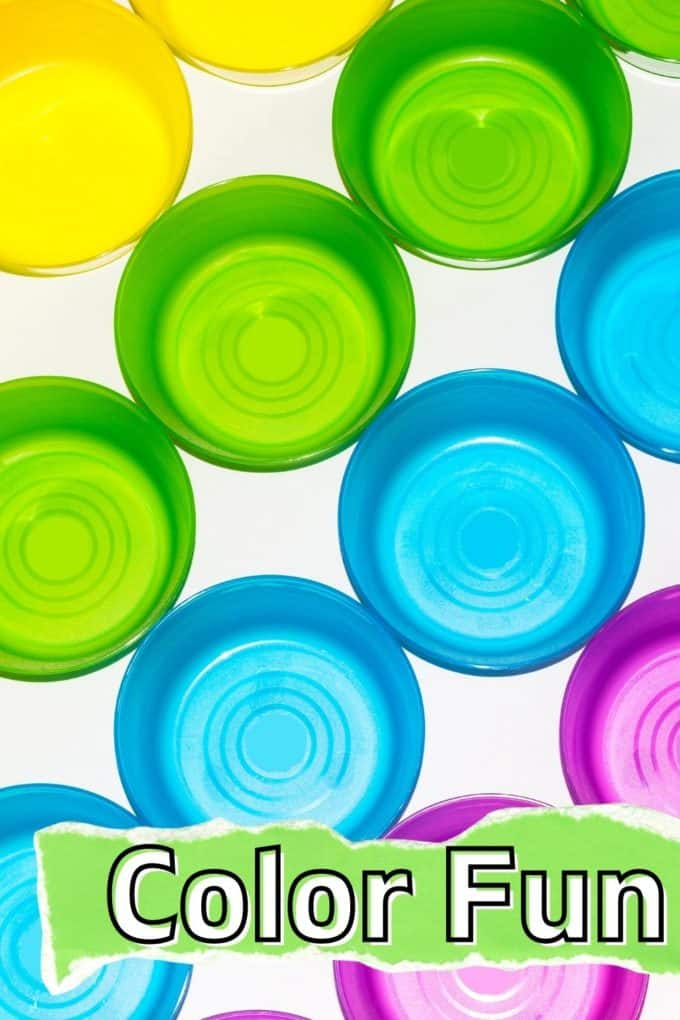 Learning colors activities for kids